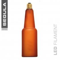 LED Beer lamp Curved spiraale pruun