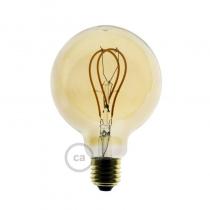 Kuldne ümar LED valgusallikas - kaksikring