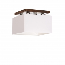 SQUARE CEILING dark brown