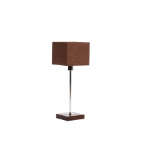 SQUARE TABLE dark brown