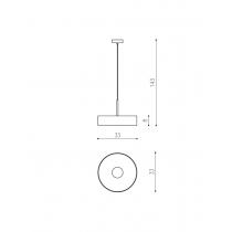 THIN CYLINDER RIPP ø330mm